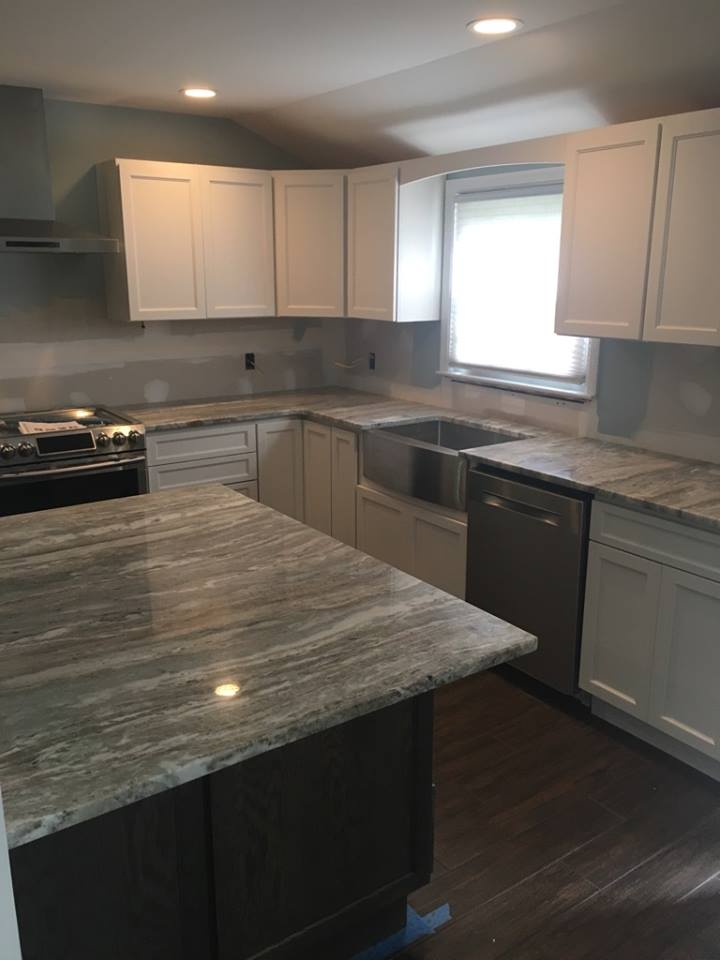 Granite Kitchen Fantracy Brown - Long Island NY Quartz and Granite Long Island